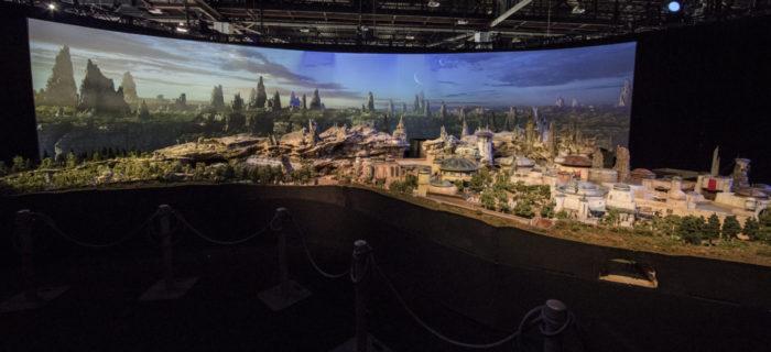 Star Wars Land Model Revealed