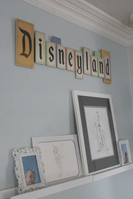 Disney Living Room Decor Disneyland Sign Clementine County