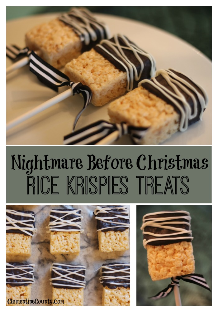nightmare before christmas food