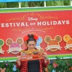 The Festival of Holidays Return to Disneyland