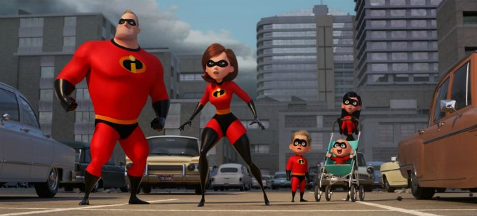 Incredibles 2 Coloring Pages and