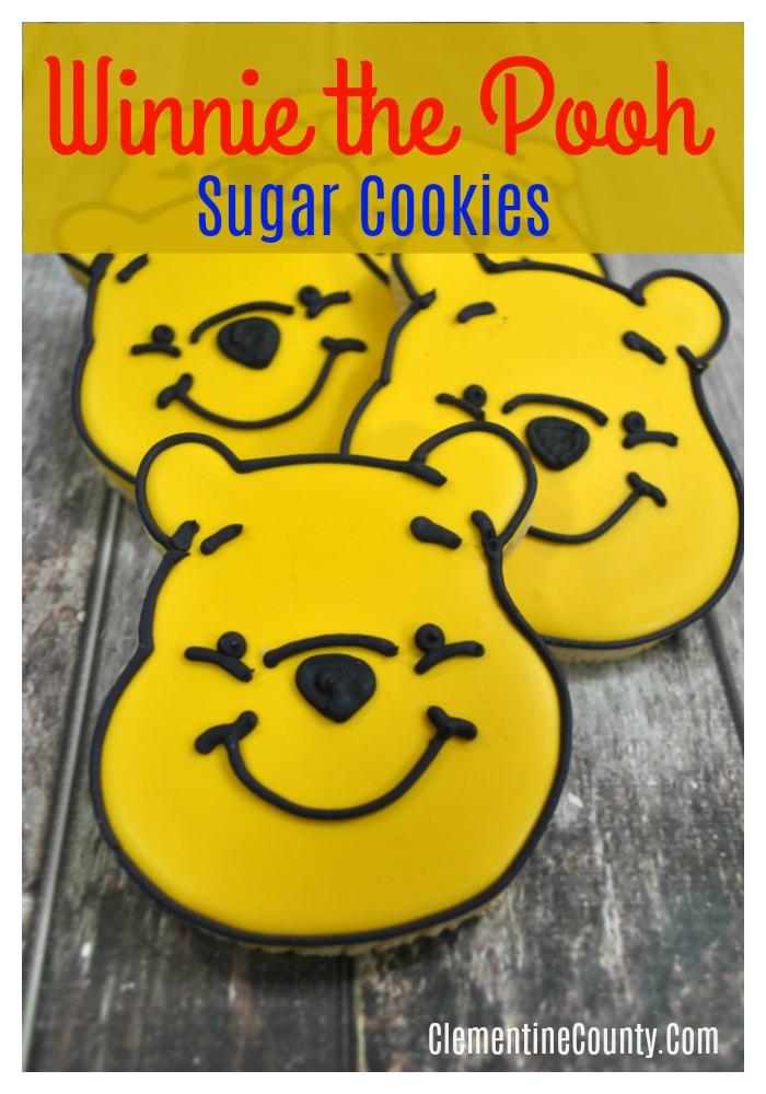 Winnie The Pooh Sugar Cookies Clementine County