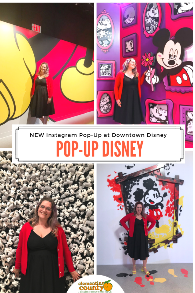 Pop Up Disney At Downtown Disney Is Instagram Heaven Clementine County