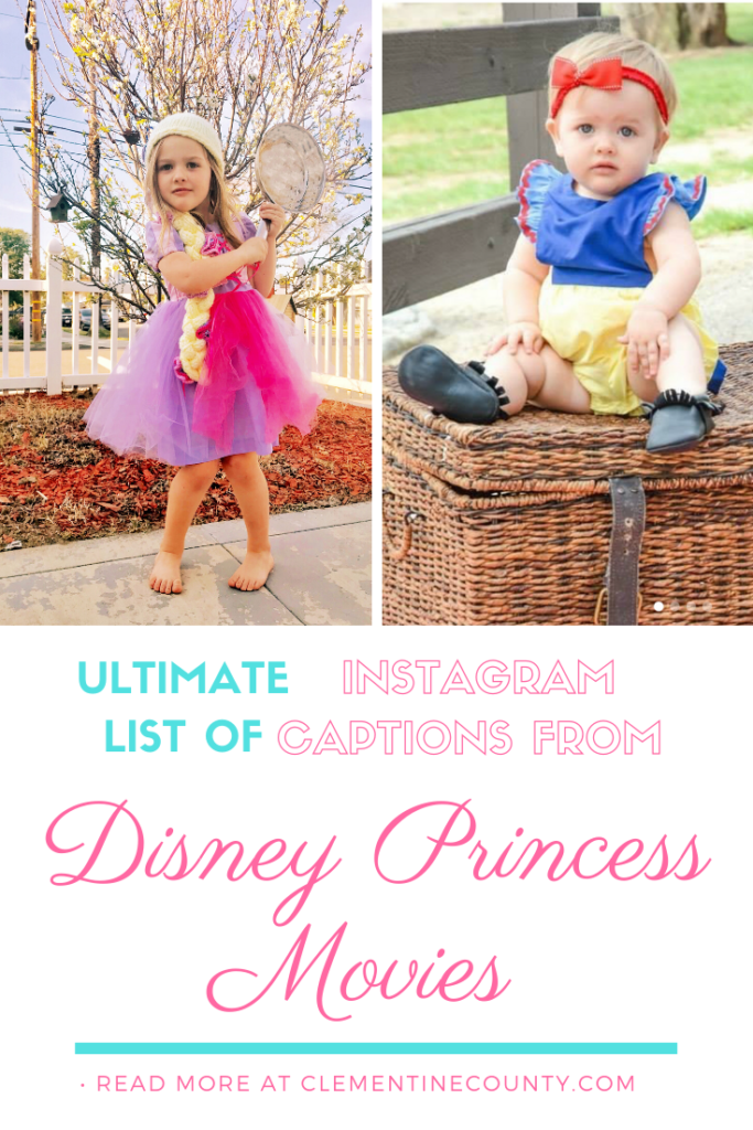 Best Disney Princess Quotes For Instagram Clementine County